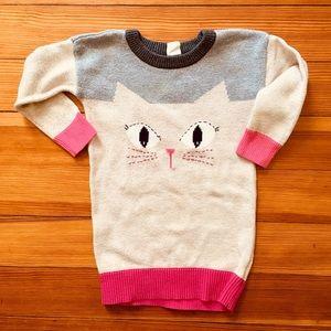 Purr! Gap cat sweater dress 18-24 months